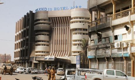 ATTAQUES TERRORISTES A SPLENDID HOTEL ET CAPPUCINO : Sur les lieux du drame