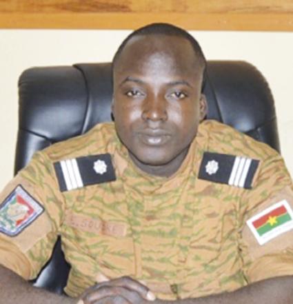 CAPITAINE EMILE SOUDRE à propos de la lutte contre le terrorisme à Dédougou : « Des mesures actives et passives sont prises pour parer à toute éventualité »