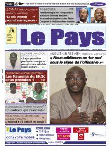 LE JOURNAL 29/04/2016 au 02/05/2016