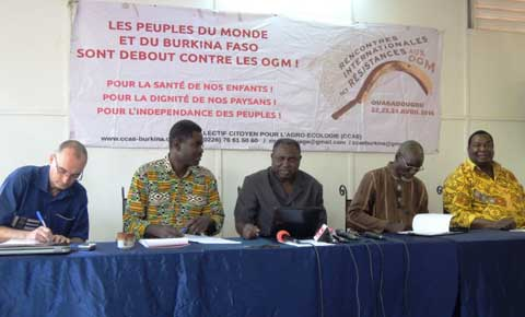 COLLECTIF CITOYEN POUR L'AGRO-ECOLOGIE : Front commun contre les OGM, du 22 au 24 avril
