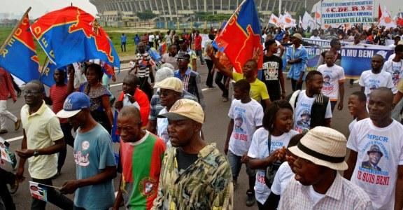 MARCHE DE L'OPPOSITION EN RDC : Quel impact sur la posture pouvoiriste de Kabila?