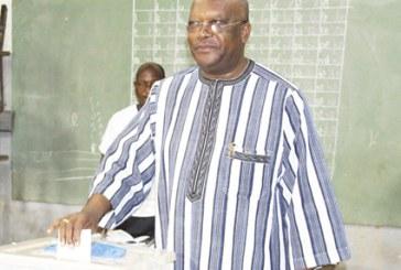 ELECTIONS MUNICIPALES DE 2016 : Le président du Faso a voté à l'école primaire B de la Patte d'Oie