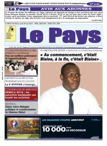 LE JOURNAL  30/05/2016