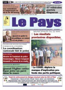 LE JOURNAL  24/05/2016