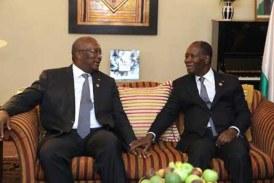 RELATIONS BURKINA FASO/ COTE D'IVOIRE : A petits pas vers la normalisation