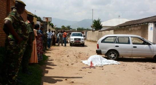 BURUNDI : Des pourparlers sur fond d'assassinats ciblés