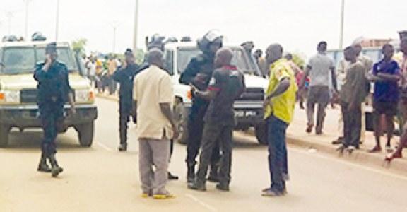 QUARTIER ZONGO DE OUAGADOUGOU : Course- poursuite entre  forces de l'ordre et pro-Koglwéogo