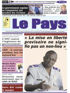 LE JOURNAL  25/07/2016