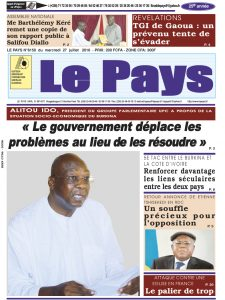 LE JOURNAL  27/07/2016