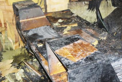 STUDIO ABAZON : Un incendie ravage tout