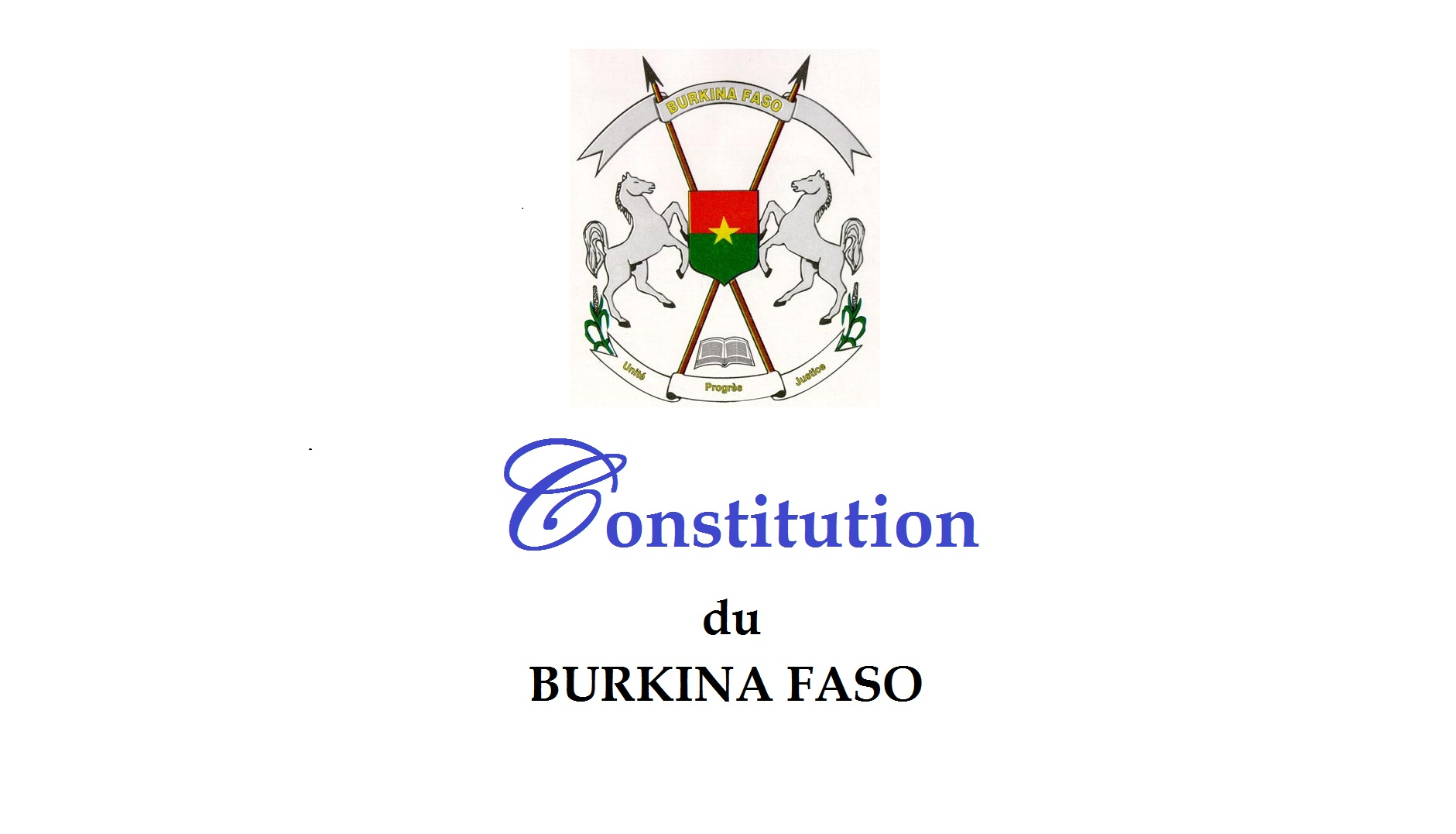 POLEMIQUE AUTOUR DE LA NOUVELLE CONSTITUTION AU BURKINA : Seuls doivent primer les intérêts du peuple