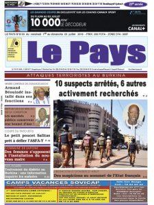 LE JOURNAL  01/07/2016