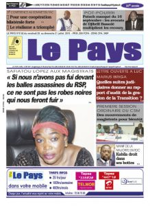 LE JOURNAL  29/07/2016 au 31/07/2016
