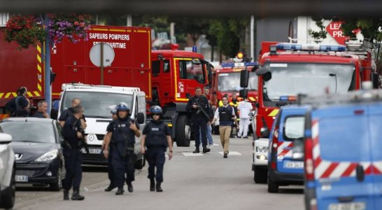 ATTAQUE CONTRE UNE EGLISE EN FRANCE : Le palier de trop