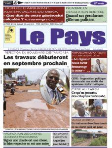 LE JOURNAL  25/08/2016