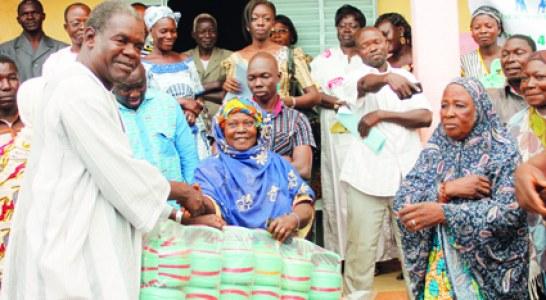 MARP-BURKINA : Des dons pour plus de 400 ménages sinistrés