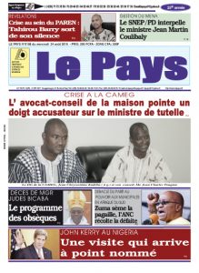 LE JOURNAL  24/08/2016