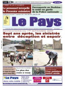 LE JOURNAL  01/09/2016