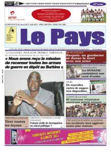 LE JOURNAL  31/08/2016