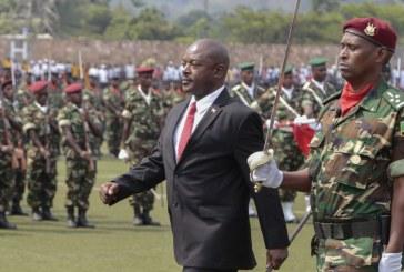 NOMINATION D'UN GENERAL EN ACTIVITE A LA TETE DU PARTI AU POUVOIR AU BURUNDI : Les intentions de NKurunziza sont claires