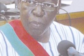 2E SESSION PARLEMENTAIRE : Salifou Diallo pour une gestion saine des deniers publics