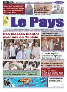 LE JOURNAL  23/09/2016 au 25/09/2016