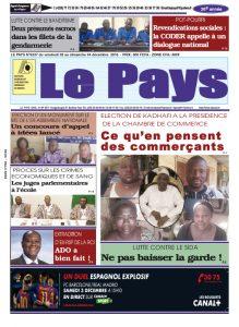 LE JOURNAL  02/12/2016 au 04/12/2016