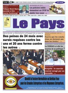 LE JOURNAL DU 17/01/2017