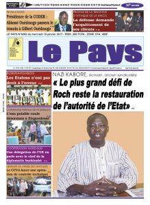 LE JOURNAL DU 18/01/2017