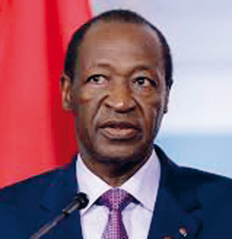 Burkina blaise compaor et ses ministres devant la haute for Haute justice