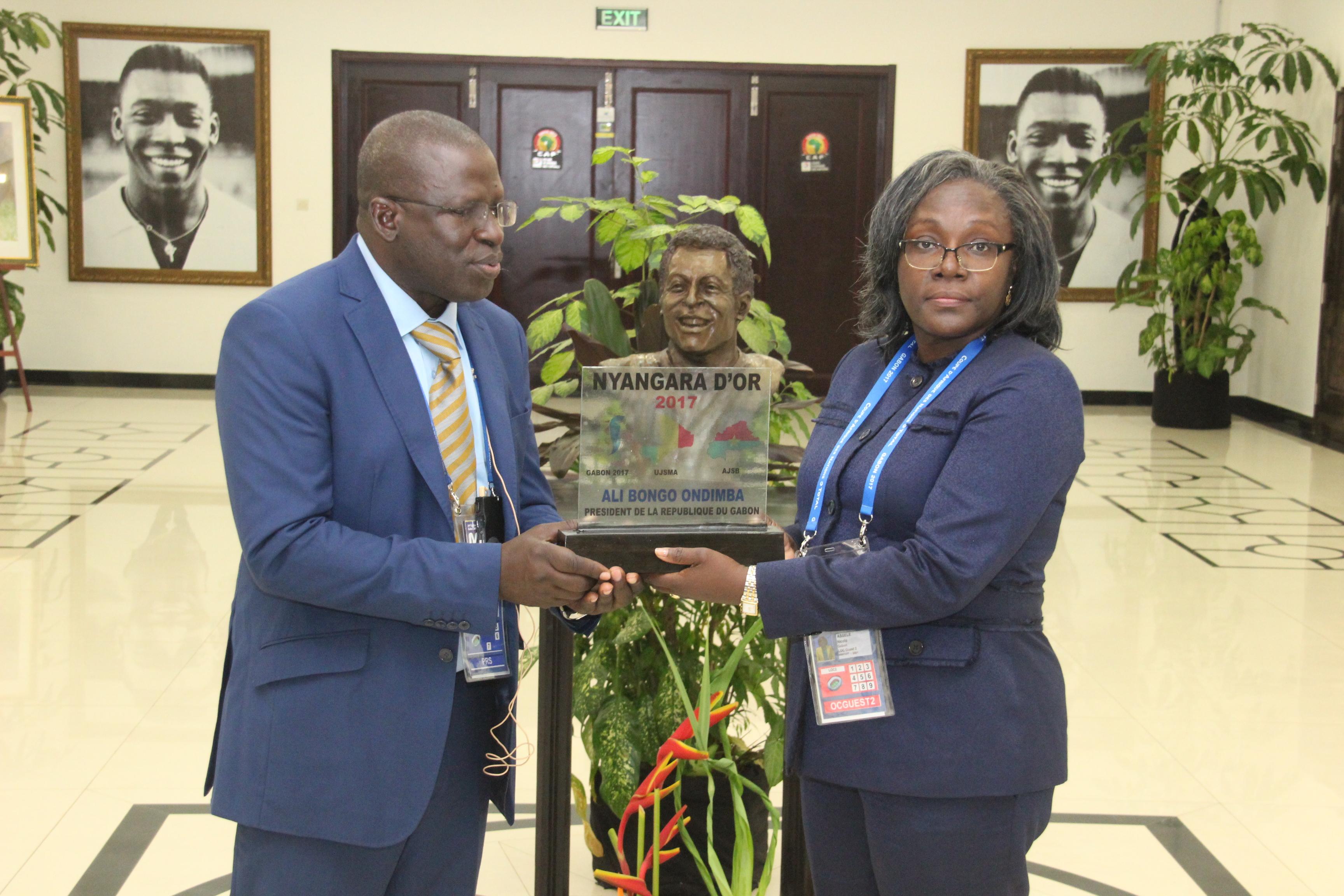 CAN GABON 2017 : Le mérite de dirigeants reconnu par des journalistes africains