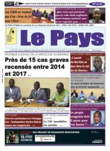 LE JOURNAL DU 24 AU 26/02/2017