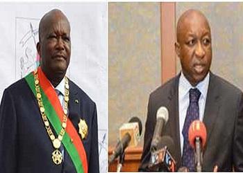 Remaniement ministeriel au Burkina:2 départs, 5 arrivées
