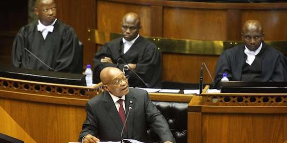 TENSIONS AU PARLEMENT DU CAP : Zuma récolte ce qu'il a semé