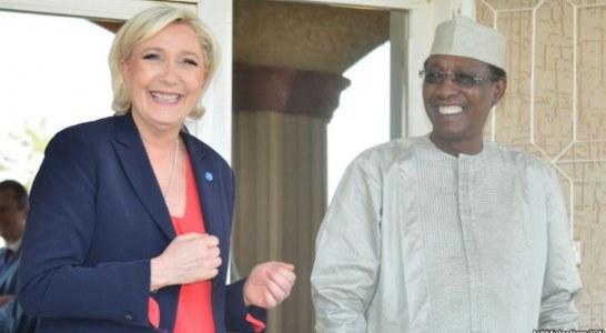 SORTIE DE MARINE LE PEN SUR LA FRANCAFRIQUE : Idriss Déby n'a qu'à s'en prendre à lui-même