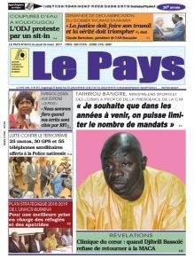 LE JOURNAL DU 23/03/2017