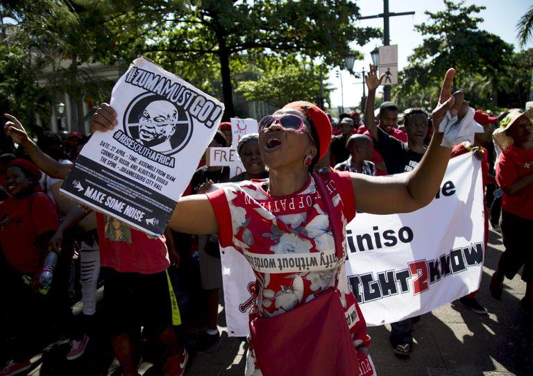 MANIFS CONTRE LES DERIVES DU PRESIDENT SUD-AFRICAIN : Zuma survivra-t-il à cette énième tempête ?