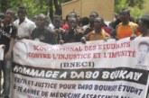 27e ANNIVERSAIRE DE LA DISPARITION DE DABO BOUKARY : Des étudiants réclament toujours justice