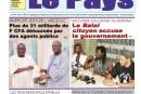 «LE PAYS» N°6355 du 30/05/2017