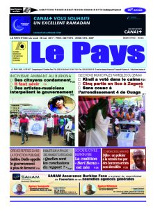 Le Journal du  29/05/2017