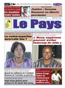 Le Journal du  24/05/2017 AU 25/05/2017