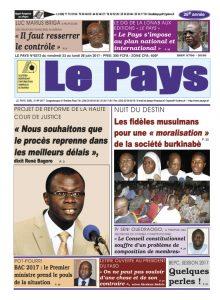 Le Journal du 23/06/2017 AU 26/06/2017