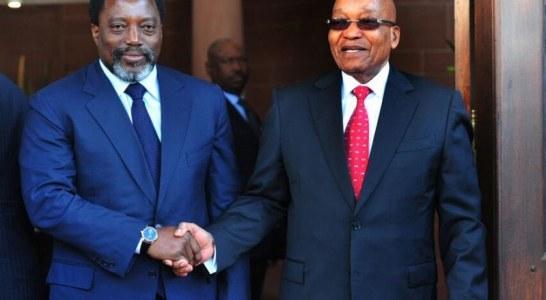 RENCONTRE ENTRE ZUMA ET KABILA : Echange de bons procédés entre dictateurs