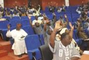 REFORME DE LA HAUTE COUR DE JUSTICE : 99 députés  pour, 11 abstentions