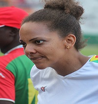 8ES JEUX DE LA FRANCOPHONIE:Leticia Bambara rate sa sortie