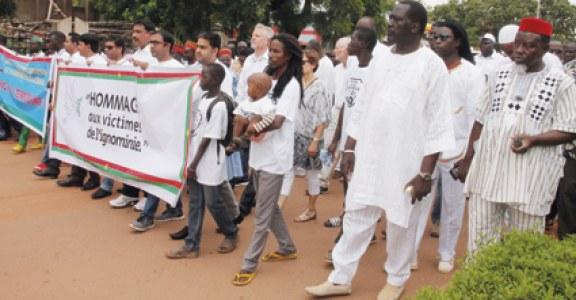 ATTAQUE TERRORISTE DU 13 AOUT : Une marche silencieuse pour dire non à la violence