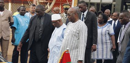 Nouvelle attaque  terroriste au Burkina : Le Président IBK sur les lieux du drame