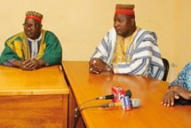 ATTAQUE TERRORISTE DU 13 AOUT : Le Mogho Naaba donne 500 000 F CFA aux blessés