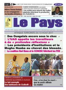 Le Journal du 17/08/2017