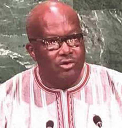 ROCH MARC CHRISTIAN KABORE A  LA 72E AG DE L'ONU : « La lutte contre le terrorisme est désormais une priorité nationale»